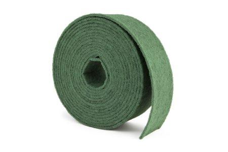 100X10NON WOVEN ROLL GREEN